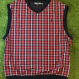 Polo Golf Vest  2side pockets
